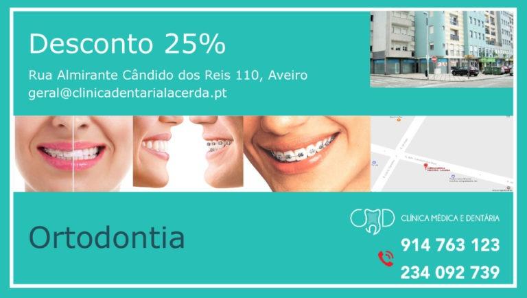Desconto 25% Ortodontia