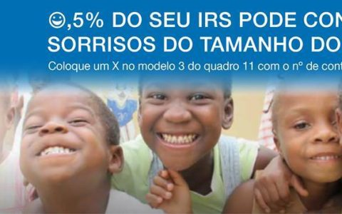 0,5% do seu IRS para as nossas Crianças de Guiné-Bissau